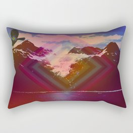 Into another dimension Rectangular Pillow