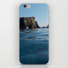 MY BLUE HORIZON iPhone Skin