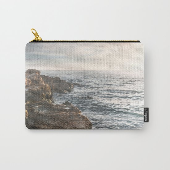 Ocean (Rocks Within the Misty Blue) Carry-All Pouch