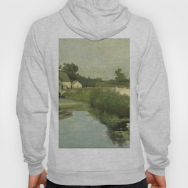 Summer Day By Johan Hendrik Weissenbruch | Reproduction Hoody