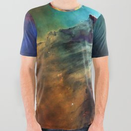 Lagoon Nebula All Over Graphic Tee
