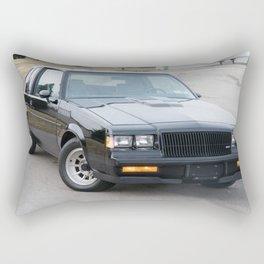 Grand National Regal T-type WE4 Turbo T in Black Rectangular Pillow