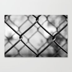 Fenced In, New York City  Canvas Print