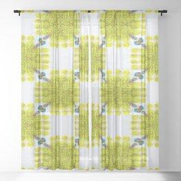 awareness Sheer Curtain