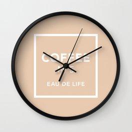 Iced Coffee No5 Wall Clock