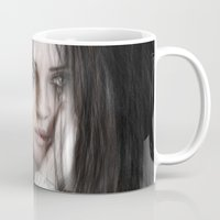 vampire weekend Mugs featuring Vampire by Justin Gedak