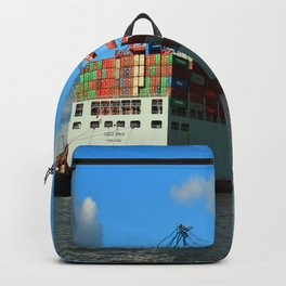 Cosco Cotainer Ship Backpack