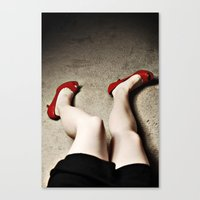legs Canvas Prints featuring Legs by Flashbax Twenty Three