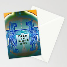 Nice to meet You / Robotic Lab Stationery Cards