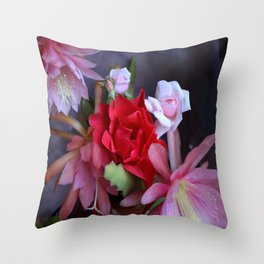 Mum's THE Word - Happy Mum's Day! Throw Pillow