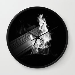 Still (b&w) Wall Clock