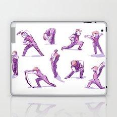 When I Get Nervous I Do a Deep Lunge Laptop & iPad Skin