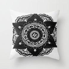 Flower Mandala Number 2 Throw Pillow