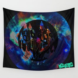 Shroom World Wall Tapestry