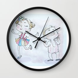 Circus Children Wall Clock