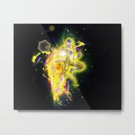 Golden Frieza Metal Print