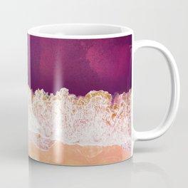 Maroon Ocean Coffee Mug
