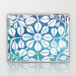 Blue Zellige Laptop & iPad Skin