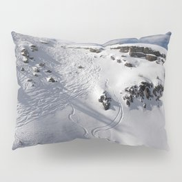 Ski Slopes Pillow Sham