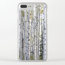 The Forest Through the Trees Clear iPhone Case