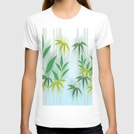 Lucky Bamboo Leaves T-shirt
