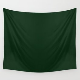 Simply Pine Green Wall Tapestry
