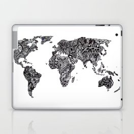 Word Map in a parallel universe Laptop & iPad Skin