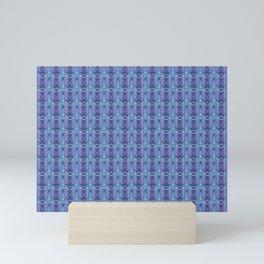 Ikat Purple Mini Art Print
