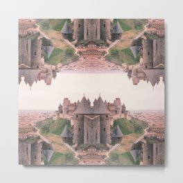 Chateau Photographic Pattern #1 Metal Print