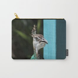 Peacock Hen Carry-All Pouch