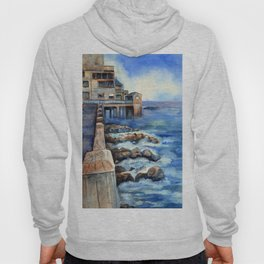 Walking with Steinbeck on Cannery Row Hoody