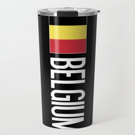 Belgium: Belgian Flag & Belgium Travel Mug