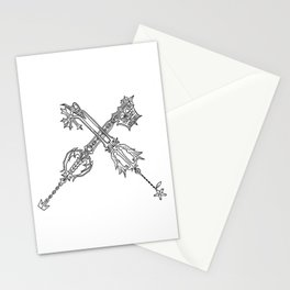 Video Game Weapon Illustration Stationery Cards