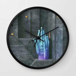 Touched Wall Clock