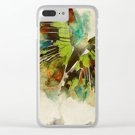 Butterfly Flight Clear iPhone Case