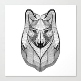 """""""Favorite Collection"""" - Wolf Canvas Print"""