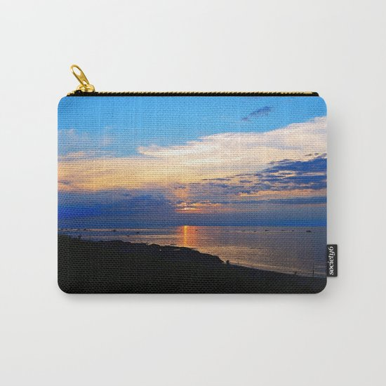 Sunset Balcony silhouette Carry-All Pouch