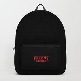 Strange Paddles Backpack