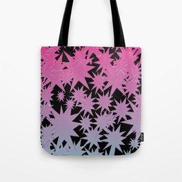 Distorted Stars Tote Bag