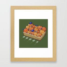 The Orange Box Framed Art Print