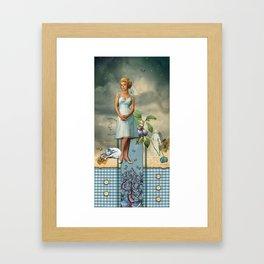 Sloth (7 Deadly Sins) Framed Art Print