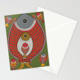 Pregnant Fish Stationery Cards