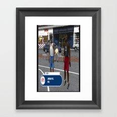 agsklj Framed Art Print