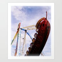 pirate ship Art Prints featuring Pirate Ship by Judith Kimber Photography