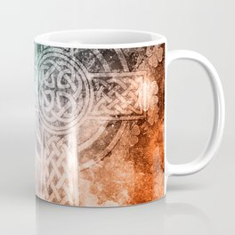 Irish Celtic Cross Coffee Mug