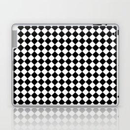 White and Black Diamonds Laptop & iPad Skin