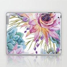 FLOWERS WATERCOLOR 19 Laptop & iPad Skin
