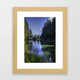 Perfect Reflection Framed Art Print