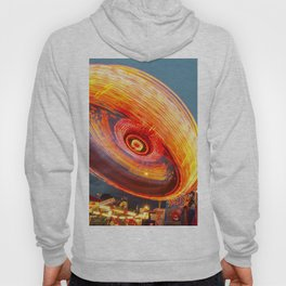 Amusement Park Ride Long Exposure Hoody