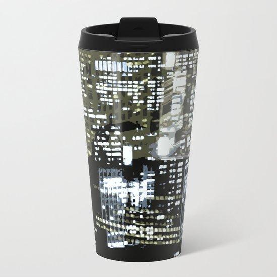 Night City 1 Metal Travel Mug